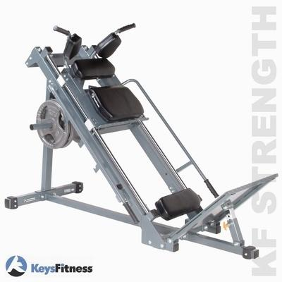 KEYSFITNESS KF-LPHS - KOMBI LEG PRESS - HACK DŘEP